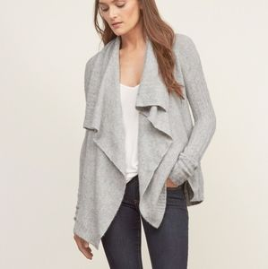 Abercrombie & Fitch Textured Drapey Cardigan XS
